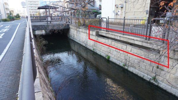 荒子川の高度処理水