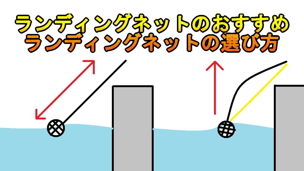 釣りのランディングネット