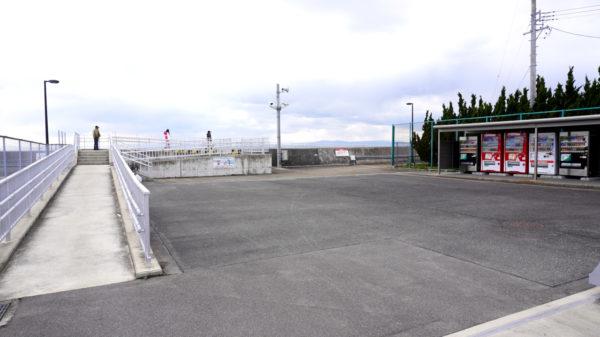 新舞子マリンパーク釣り施設の出入り口