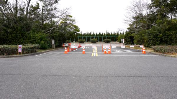 新舞子マリンパーク第2駐車場の出入り口01