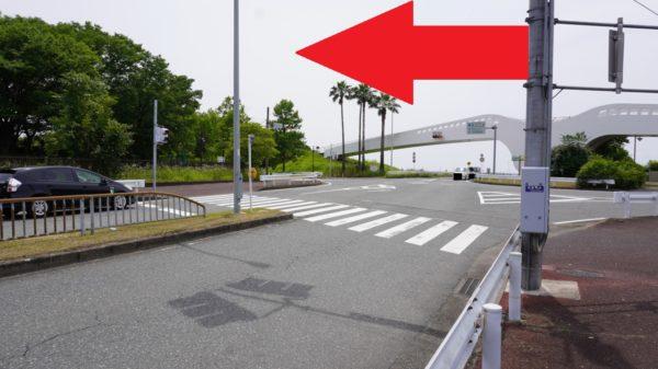 稲永公園の信号
