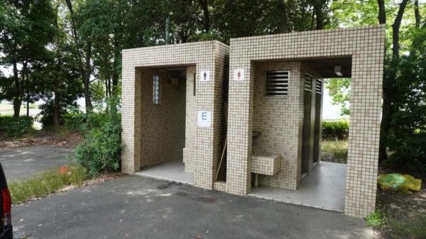 稲永公園のトイレ